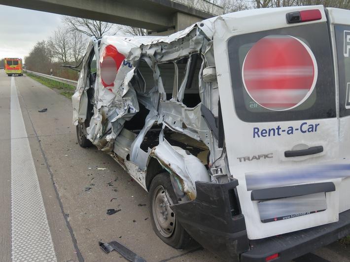POL-DEL: Autobahnpolizei Ahlhorn: Verkehrsunfall auf der A29 im Bereich Großenkneten
