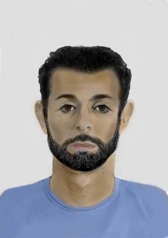 POL-FL: Sexueller Übergriff auf 14-Jährigen – Polizei fahndet mit Phantombild nach unbekanntem Täter – Wer kennt diesen Mann?
