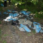 POL-HX: Dutzende Säcke mit Schlamm illegal entsorgt