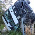 Kaiserslautern: A6/Ramstein-Miesenbach, Auf Pannenfahrzeug gekracht - Lkw-Fahrer schwerverletzt
