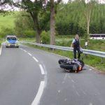 POL-GM: 080720-526: Motorradfahrer bei Sturz schwer verletzt