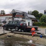 Stralsund  POL-HST: Pkw rollte ins Hafenbecken von Altefähr