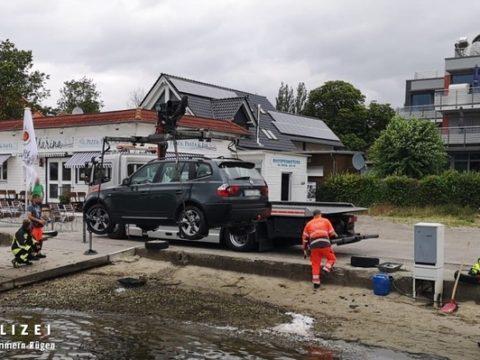 Verkehrsunfall Neubrandenburg