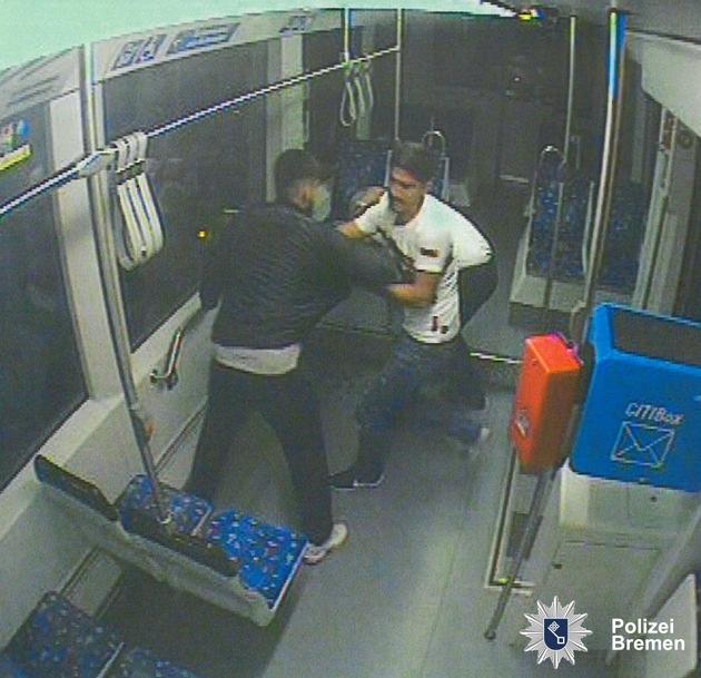 Bremen: Nr.: 0478 — Erneute Öffentlichkeitsfahndung nach Angriff auf Straßenbahnfahrer–