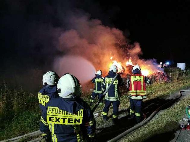 Read more about the article Nienburg / Schaumburg  POL-NI: Vermutlich Brandstiftung von 23 Heuballen