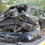 Minden-Lübbecke: PKW überschlägt sich, Fahrer schwer verletzt