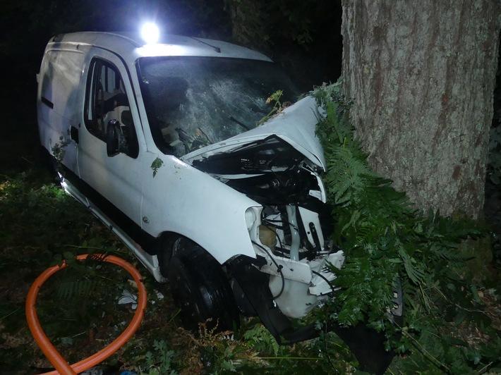 Merzig  POL-MZG: Schwerer Verkehrsunfall auf der L 158