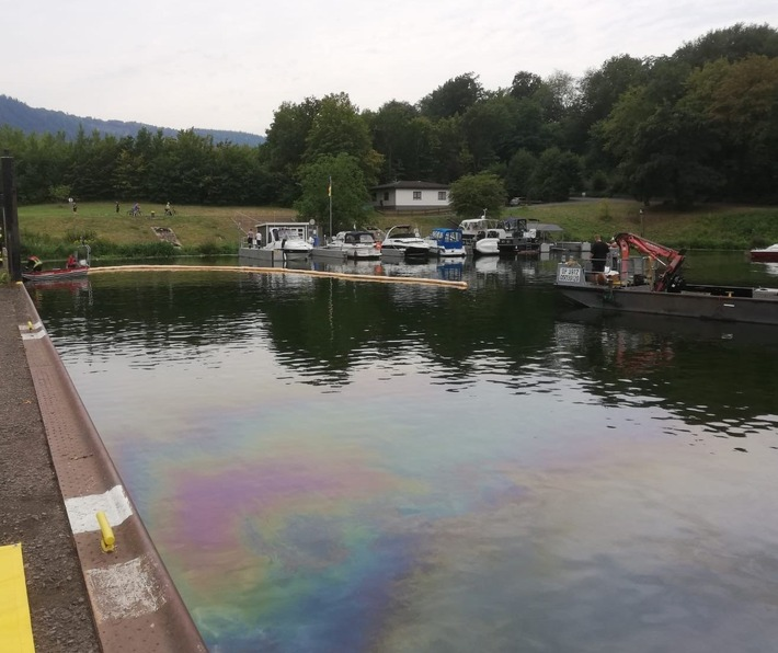 PP-ELT: Gewässerverunreinigung im Schutzhafen Traben-Trarbach