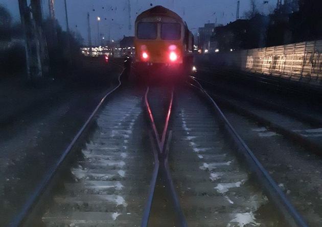 BPOL-BadBentheim: Güterlok in Osnabrück entgleist
