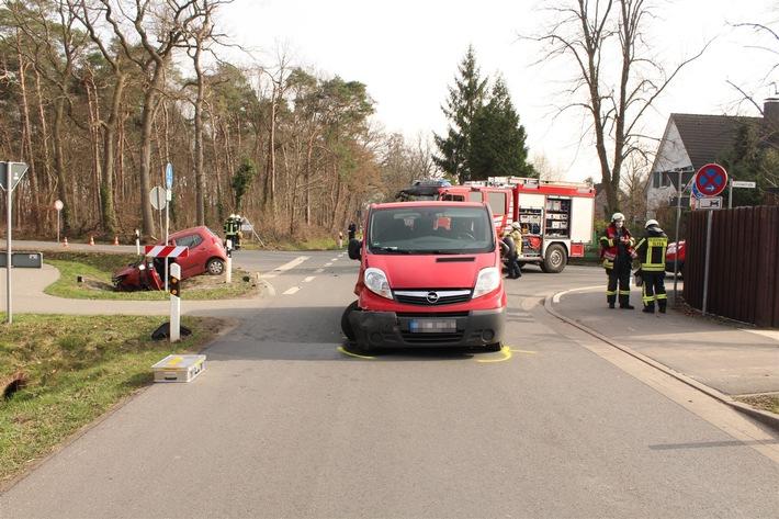 POL-COE: Olfen, Borker Landweg/Selmerinnen bei Unfall verletzt