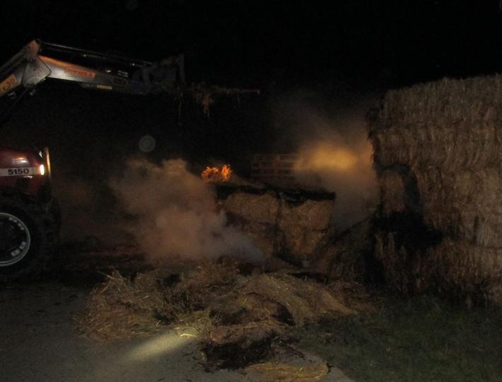 POL-REK: 210303-3: Zeugen nach Strohmietenbrand gesucht – Erftstadt